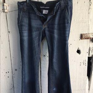 Banana Republic Wide-Cut Denim Jeans